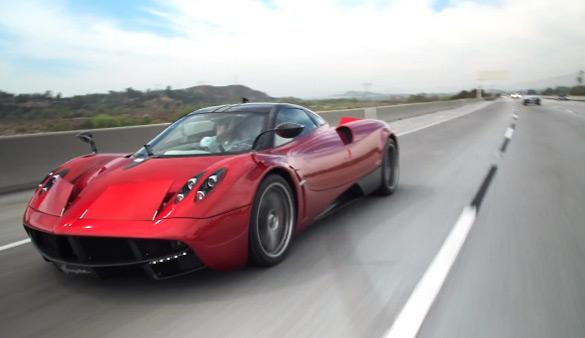 Jay Leno Drives the Pagani Huayra – Jet Sounds Standard: Video