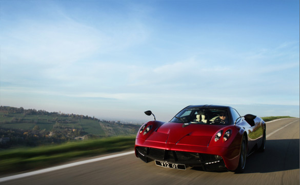 Epic Proportions of a Pagani Huayra – Test Drive Video