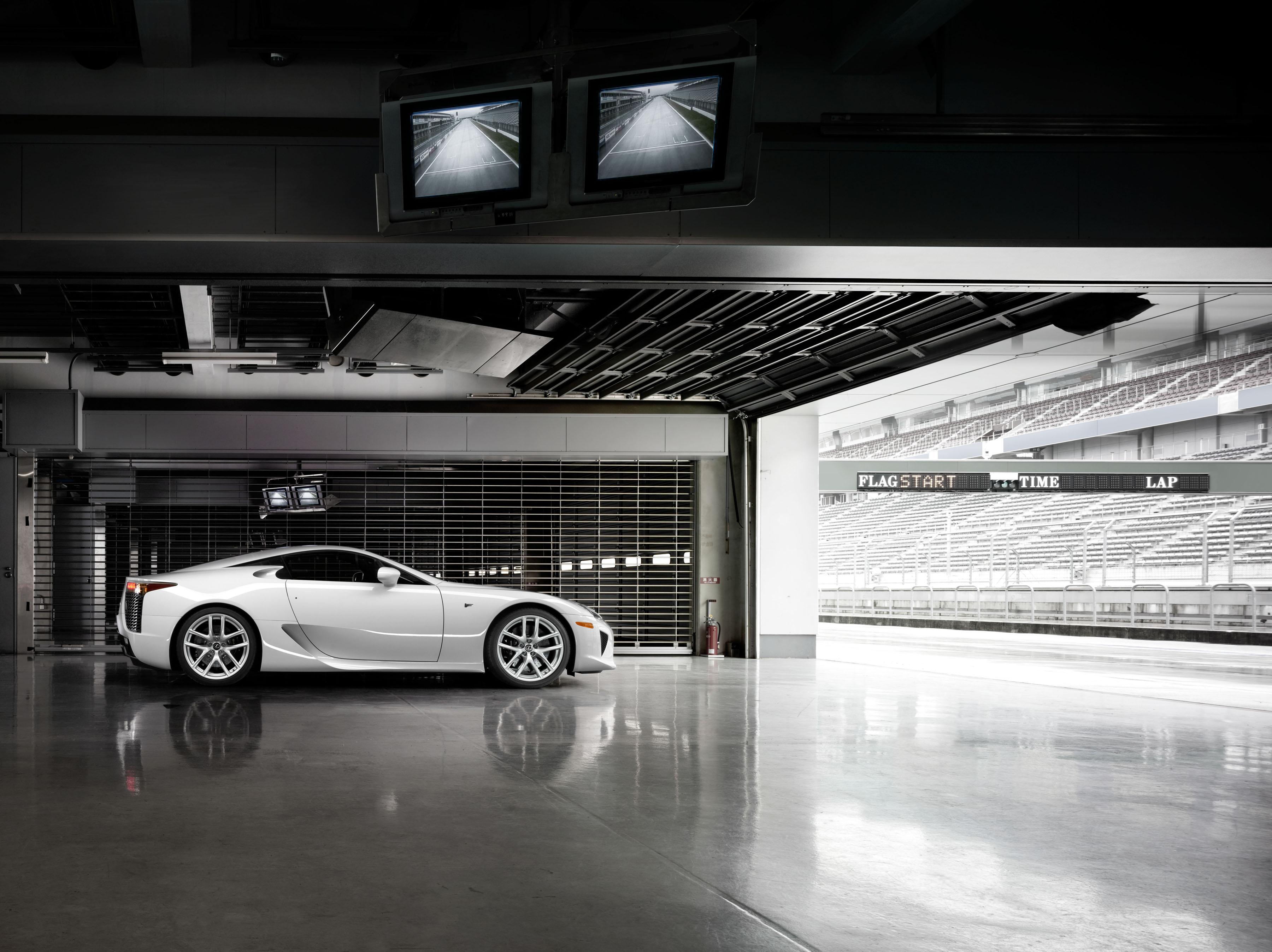 Last Lexus LFA Leaves Toyota's Motomachi Plant