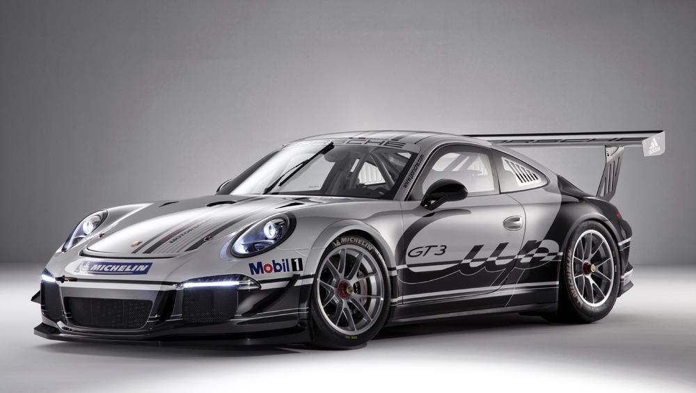 Porsche Announces New 911 GT3 Cup Car: Video