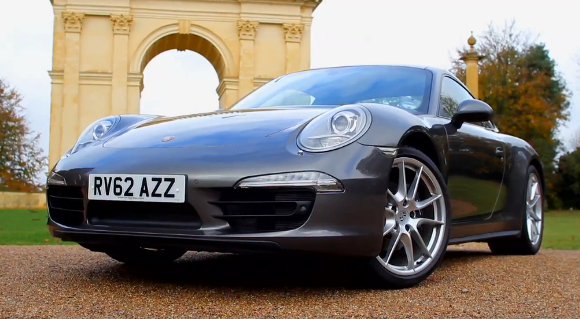Porsche Shows Off The All-New 911 Carrera 4: Video