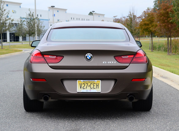 2013 Bmw 640i Gran Coupe Rear