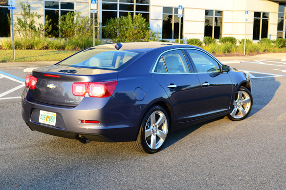 2013 chevrolet malibu ltz 2 0l turbo first drive. Black Bedroom Furniture Sets. Home Design Ideas