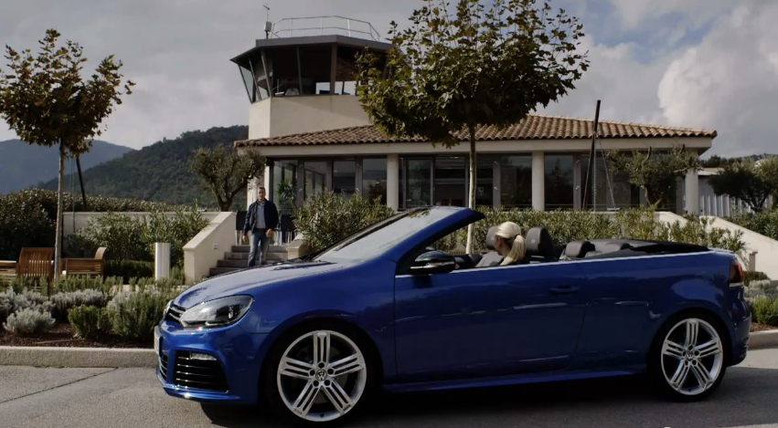 Volkswagen Shows Off The Golf R Convertible: Video