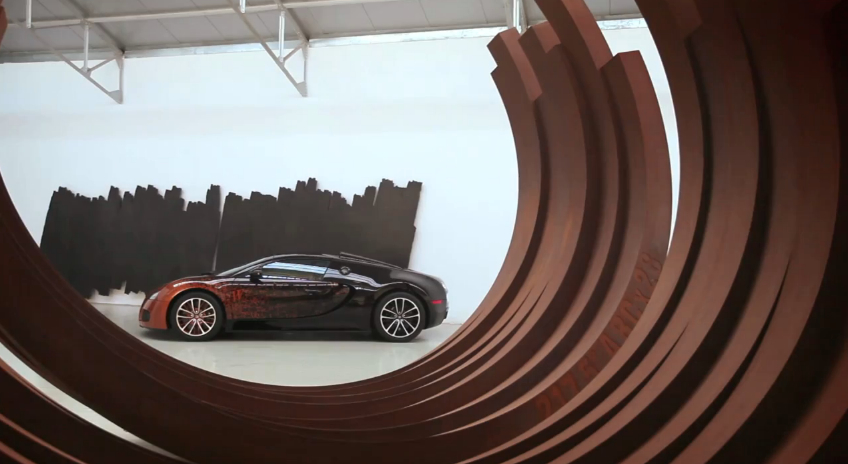 Bugatti Grand Sport Venet Blends Art And Science: Video