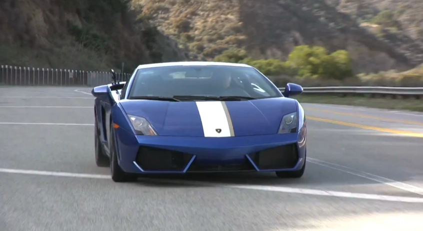 Jay Leno Drives The Lamborghini Gallardo LP 550-2 Valentino Balboni: Video