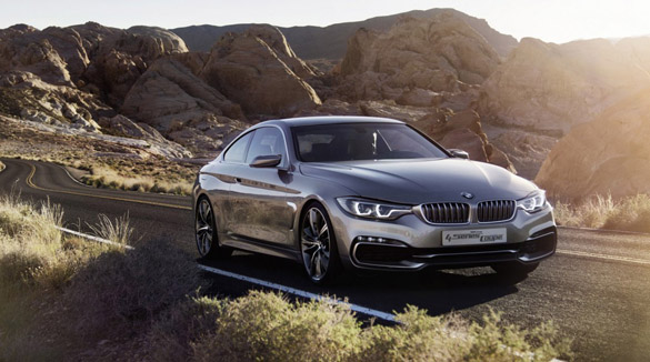 BMW 4-Series Coupe Concept Official Details and Images Hit the Web