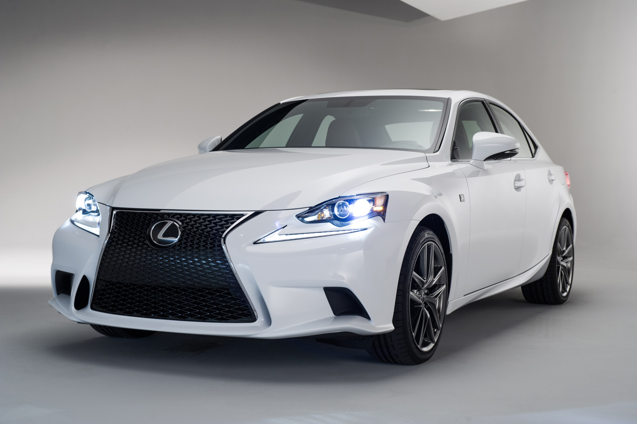 Lexus Releases Official 2014 IS F Sport Images before Detroit Reveal