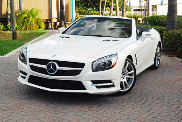 2013 Mercedes-Benz SL550 Review & Test Drive