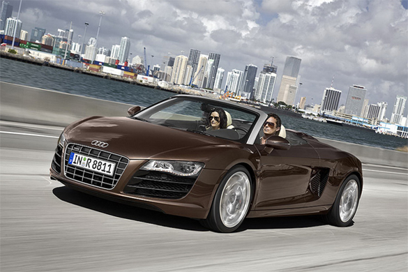 2010 Audi R8 Spyder Official Images Leaked