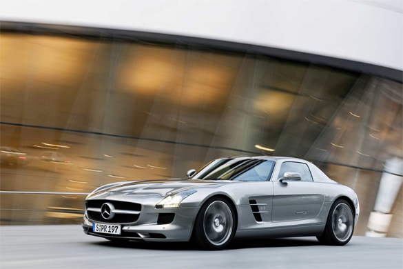 2010 Mercedes-Benz SLS AMG Images Leaked