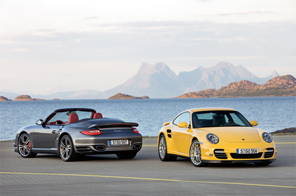 New Porsche 2010 911 Turbo now has 500 horsepower