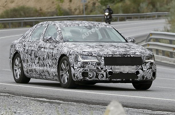 Spied: New 2011 Audi A8