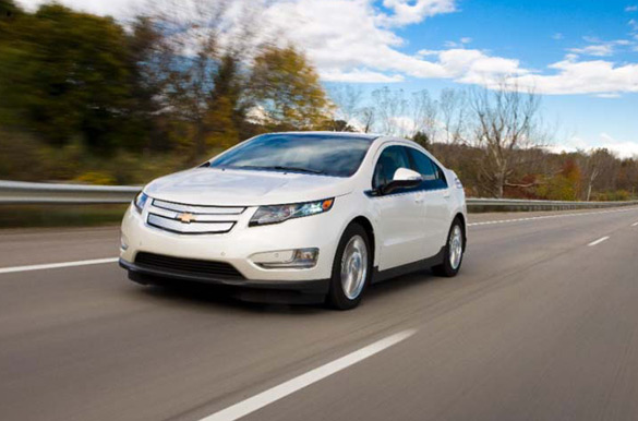 Report: Chevrolet Volt Sales Triple in 2012