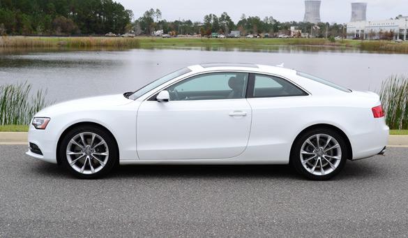 2013 Audi A5 Side