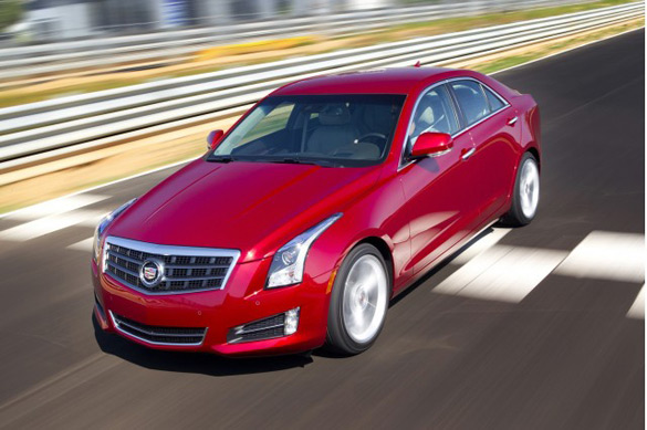 2013 Cadillac ATS Crowned North American Car of the Year
