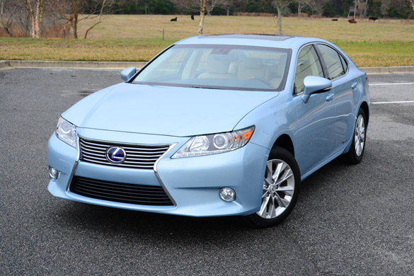 2013 lexus es300h hybrid review test drive. Black Bedroom Furniture Sets. Home Design Ideas