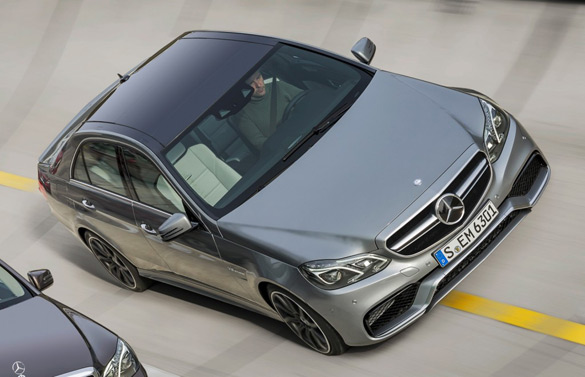2014 Mercedes-Benz E63 AMG Uncovered Before Detroit Debut