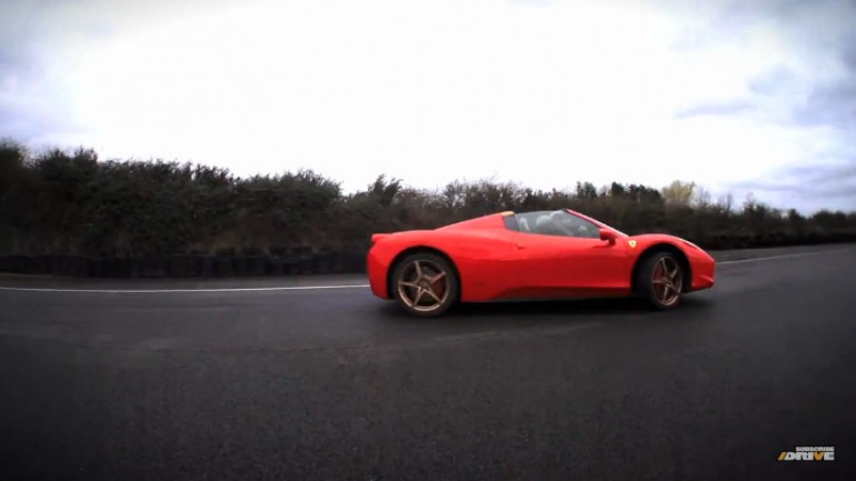 Chris Harris Drives The Ferrari 458 Italia Spider: Video