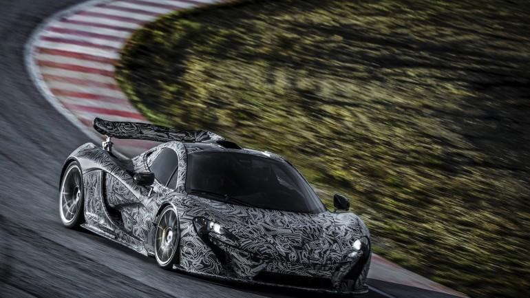 McLaren Track Tests Its P1 Supercar: Video