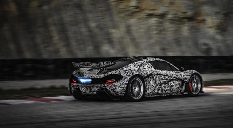 McLaren's P1 supercar prototype - image: McLaren