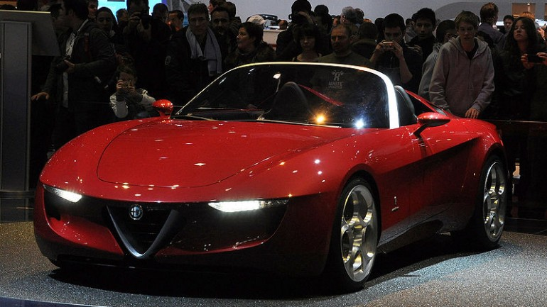 Mazda And Fiat Ink Agreement On Next-Generation Alfa Romeo Spider