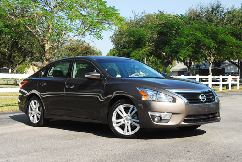 All New 2013 Nissan Altima SL 35 Beauty Left Wide Small