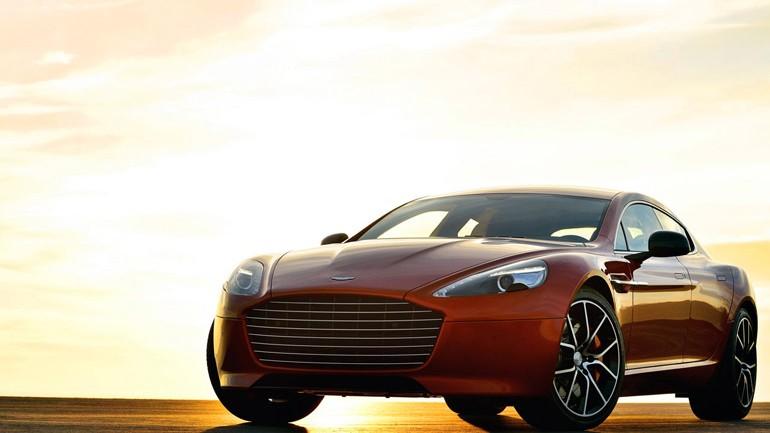 Aston Martin Rapide S Unveiled w/ 550 British Ponies