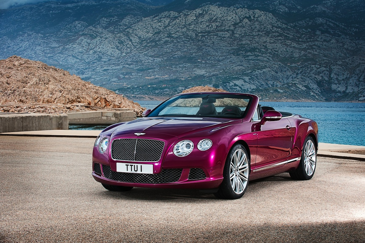 Bentley Unveils The Continental GT Speed Convertible