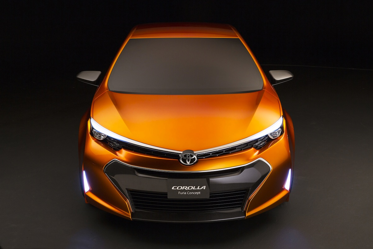 Toyota's Furia Concept Hints At The Next Corolla