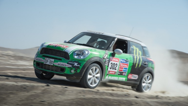 MINI Wins Its Second Dakar Rally