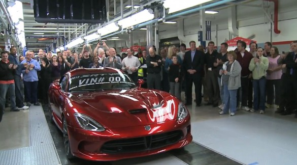 SRT Delivers The First Production Viper: Video