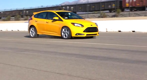 Edmunds Tests The Ford Focus ST: Video