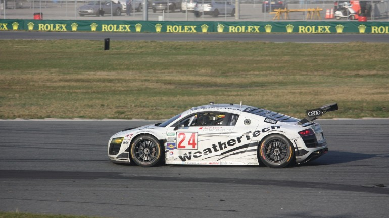 Audi Nearly Sweeps The GT Class In The Rolex 24 At Daytona