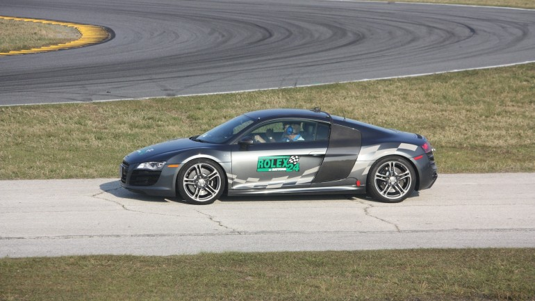 Audi Driver Frank Stippler Narrates A Lap Of Daytona: Video