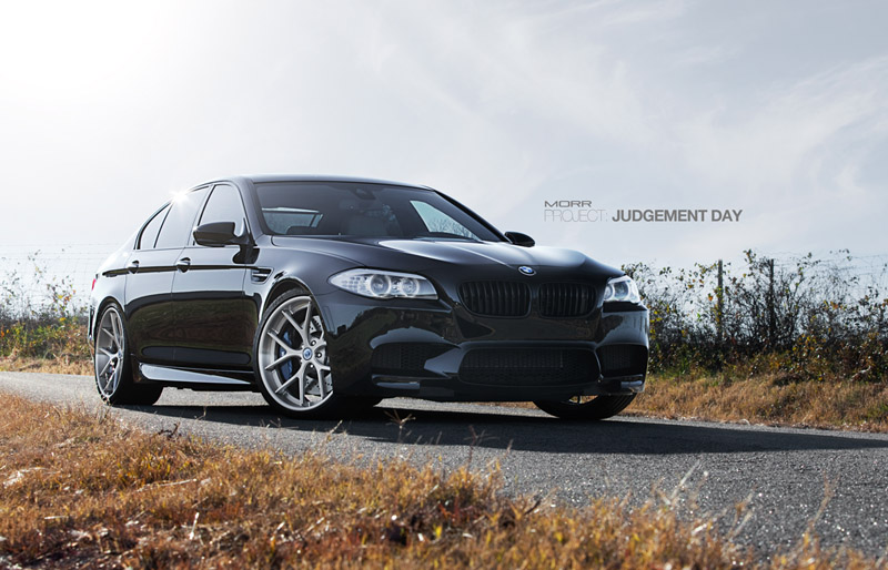 MORR Wheels Project Judgement Day Spices Up 2013 BMW M5 w/ 21″ Wheels