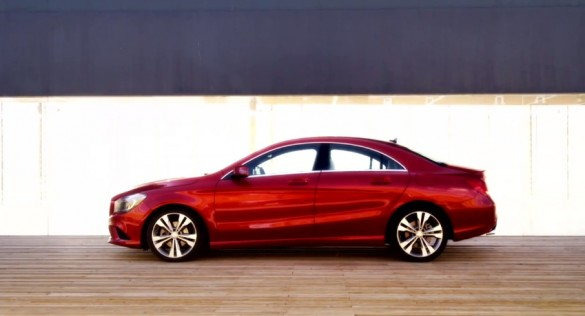 Mercedes-Benz Shows Us The New CLA Four-Door Coupe: Video