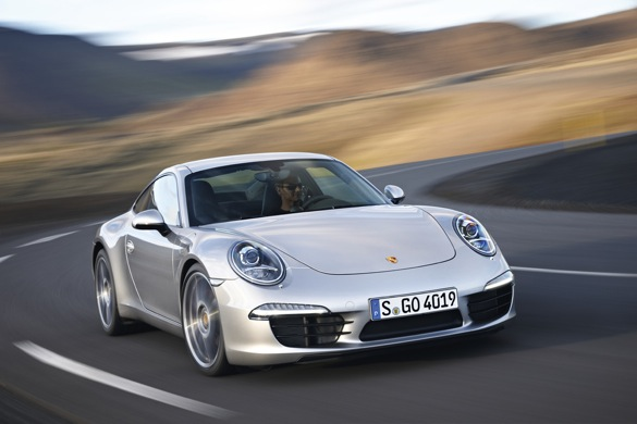 Video: 2012 Porsche 911 Driven On The Road