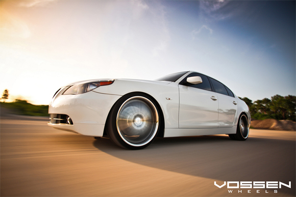 Dirty 5: BMW Elegance in the Dirt – BMW 545i Sporting Vossen VVS-082 20 inch Wheels