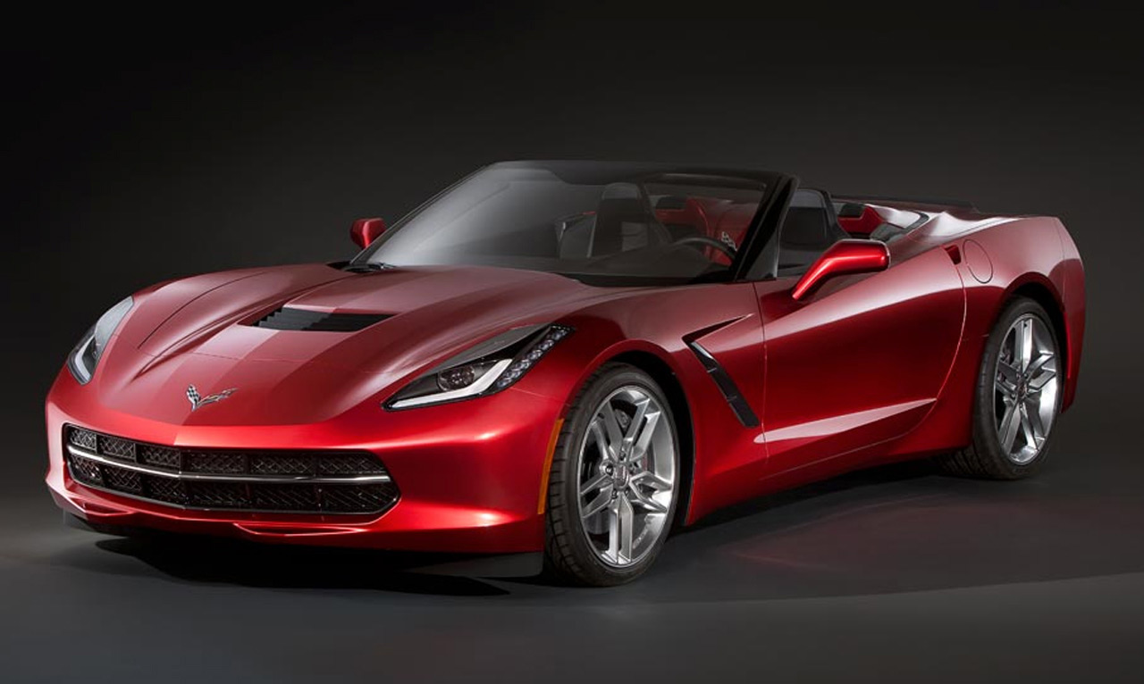 New Corvette C7 Stingray Convertible Images Leak Online
