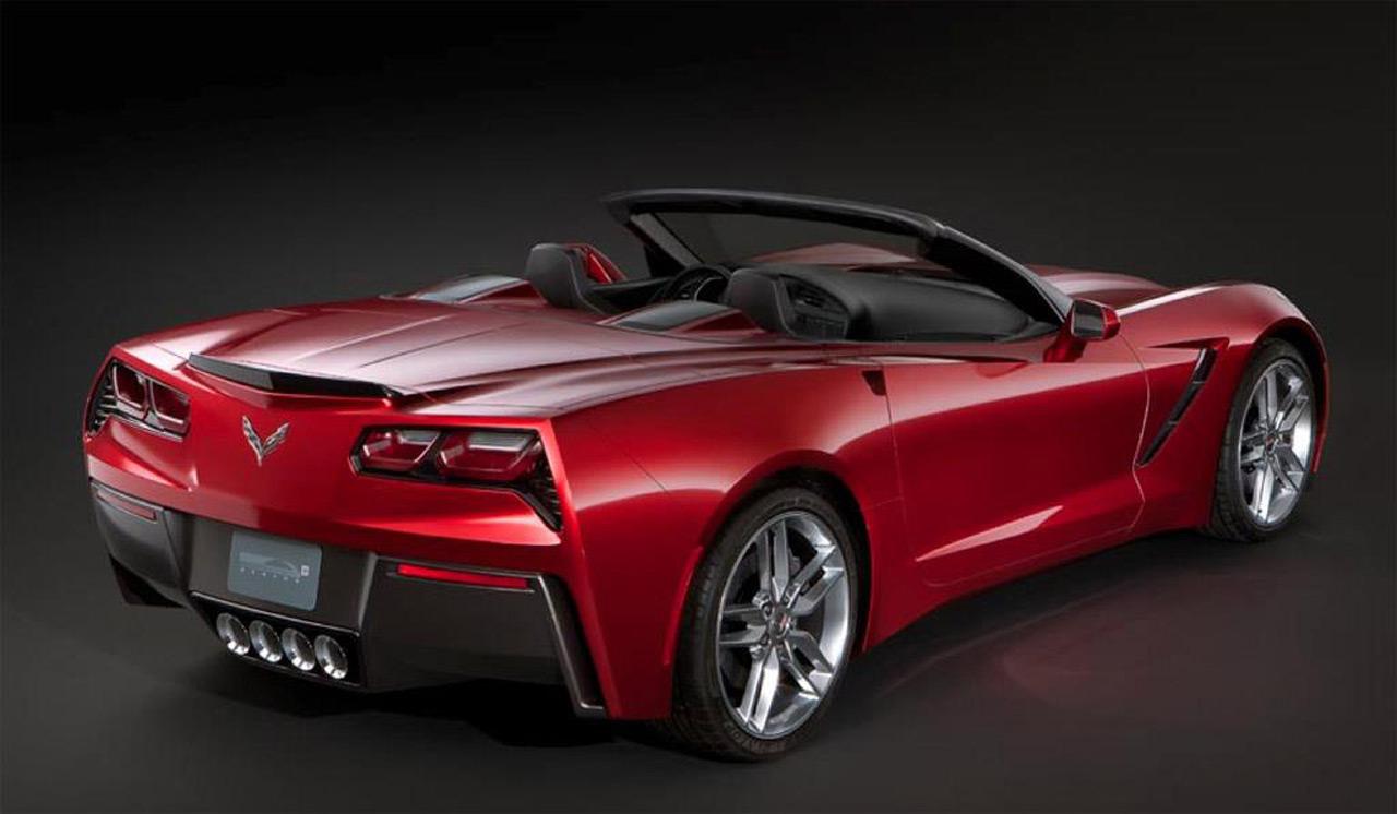 New Corvette C7 Stingray Convertible Images Leak Online
