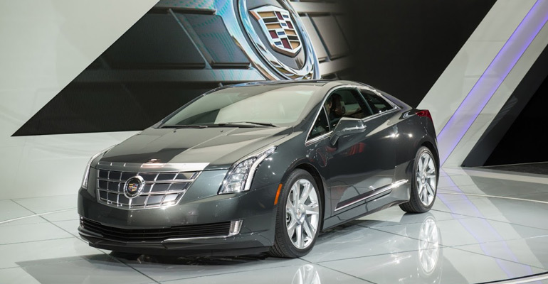 2014 Cadillac ELR Extended Range Electric Debuts In Detroit