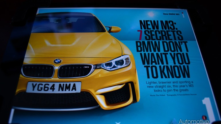 CAR Magazine Unleashes Supposed 2014 BMW M3 Details and Preview Images