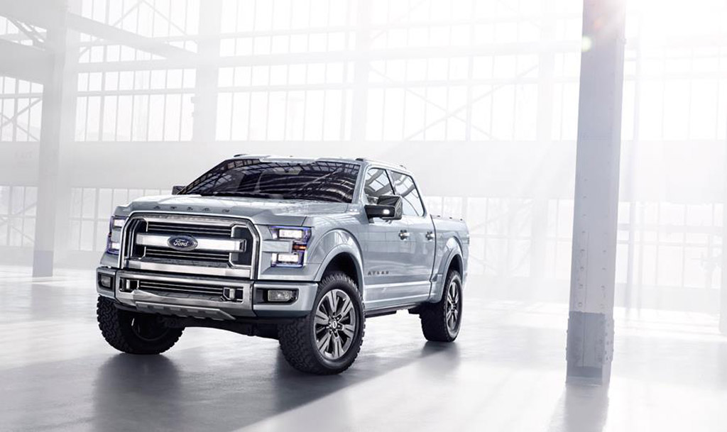 Ford Atlas Concept Bows in Detroit: The F-150 Pick-Up Truck With More Brute