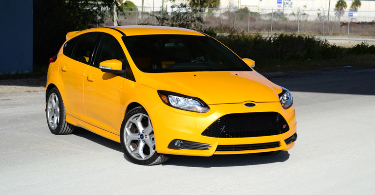 2013 Ford Focus ST Review & Test Drive