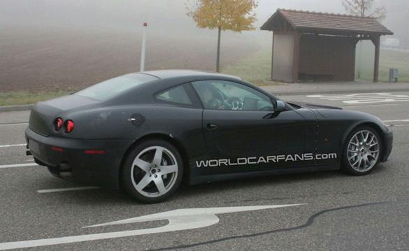 Spyshots: 2012 Ferrari 612 Scaglietti Successor