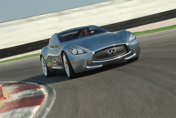 Infiniti Essence Concept Makes Stop @ Pebble Beach Concours d'Elegance