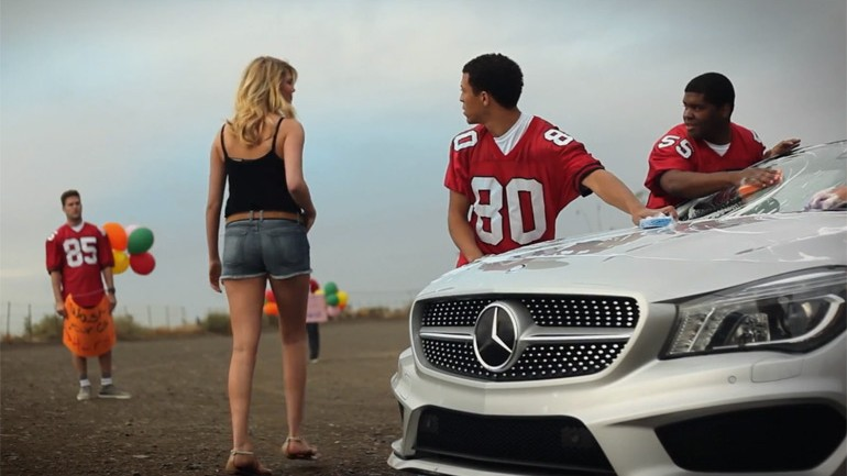 Kate Upton 2014 Mercedes-Benz CLA Super Bowl Commercial Teaser Video Goes Viral