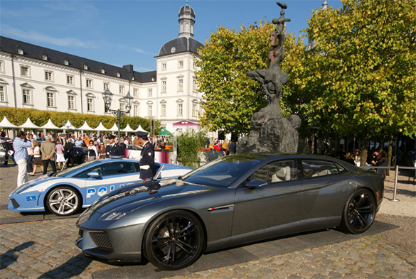 More Photos of Lamborghini Estoque Surface