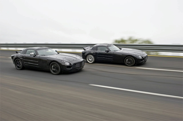 Mercedes SLS AMG Gullwing Further Details and Prototype Photos Released